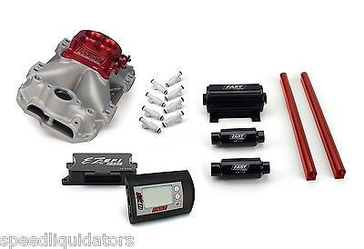 FAST EZ-EFI SBC Sm Block Chevy 1000HP Multi Port Fuel Injection Kit 3012350-10E