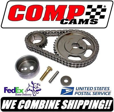 New Comp Cams Ford 5.0L 302 351W SBF Adjustable Roller Timing Set #3135KT