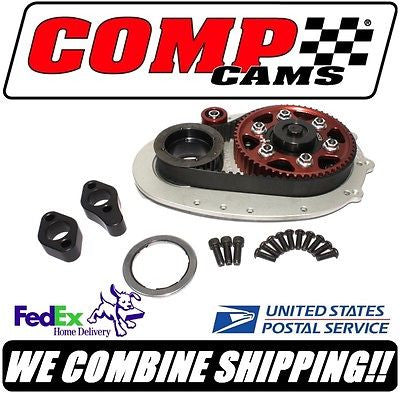 Comp Cams Olds Rocket SBC Hi-Tech Race Belt Drive System w/Raised Cam #6504