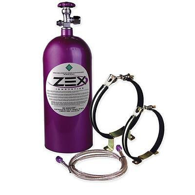 New ZEX 10lb Purple Powdercoat Nitrous Maximizer Kit with Hi-Flow Valve #82100