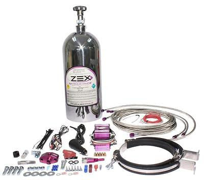 New ZEX 75-125HP 1986-1998 Ford Mustang 5.0L EFI Dry Nitrous System #82015P