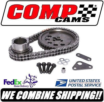 Comp Cams GM RHS LS1 3-Bolt Adjustable Double Row Roller Timing Set #3173KT