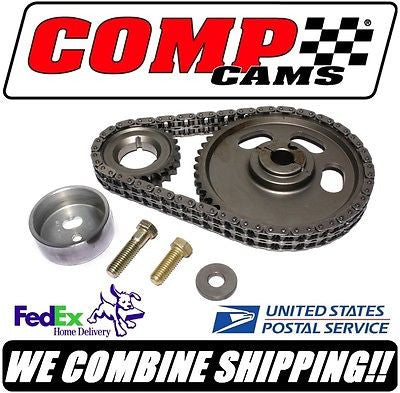 New Comp Cams Ford 390-428ci FE Adjustable Roller Timing Set #3108KT