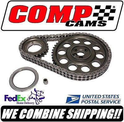 "Comp Cams 265-400ci SBC Chevy .005 ""Adjustable Timing Set w/Thrust Brg #3100KT-5"