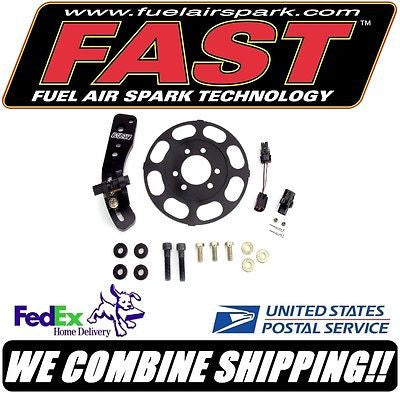 "New FAST Ignition Crank Trigger for 8"" Big Block Chevy BBC Balancer #301180"