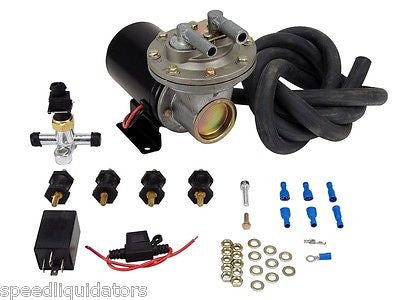 New 18-22 Inch COMP Cams 12V Electric Vacuum Pump Kit #5500