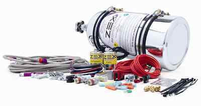 Polished ZEX Nitrous Oxide 50-200HP 4-Cyli EFI Direct Port Nitrous System 82030P