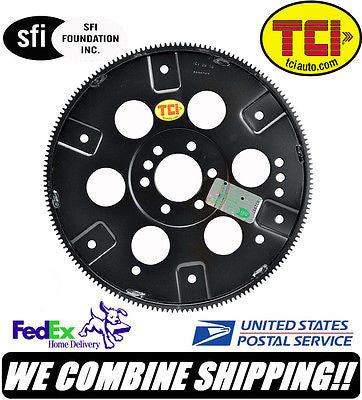 TCI SBC 400 Chevy V8 168 Tooth External Balance SFI Forged Flexplate #399373
