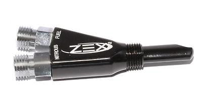 New BLACK ZEX Wet Nitrous Oxide Nozzle Kit for Blackout System #82025B