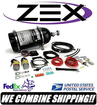 ZEX GM LS1 LS2 LS6 LS3 LS7 Blackout 100-250HP Non-Throttle By Wire Nitrous Kit
