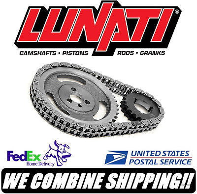 Lunati 396-454ci Chevy BBC V8 Sportsman Race Double Roller Timing Set 93110