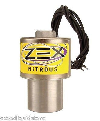 ZEX Nitrous Oxide Racing NOS Nitrous Solenoid w/Internal Screen Filter #NS6741