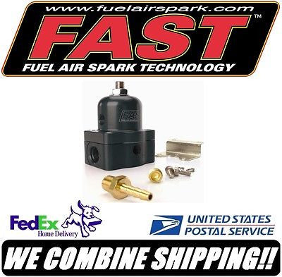 FAST 30-70 PSI Adjustable Fuel Pressure Regulator, -6 SAE O-Ring Ports #307030