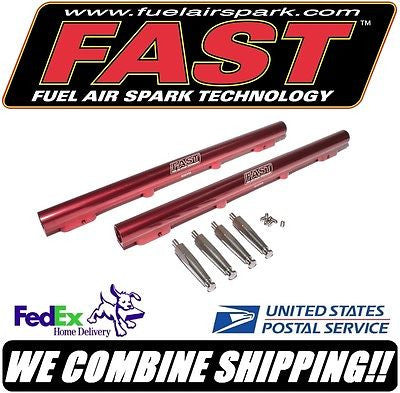 FAST SBF Ford Fuel Rail Kit for F.A.S.T. 302ci / 351W EFI Intake Manifold #30351