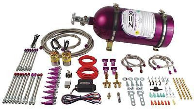 ZEX Nitrous Oxide 75-300HP Small Block EFI Direct Port Nitrous System #82062