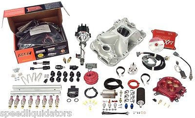 FAST XFI BBC Big Block Chevy 550HP Sequential EFI Fuel Injection Kit 3011454-05