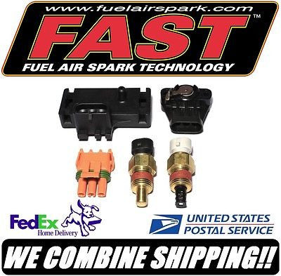 FAST Carb to EFI Swap GM 3 Bar / 43.5psi Sensor Kit MAP TPS ATS CTS #307055