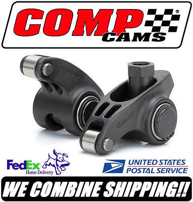 8 Comp Cams Ultra Pro Magnum XD 1.65 3/8 SBC Chevy V8 Roller Rocker Arms #1803-8