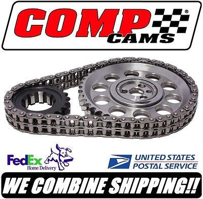 Comp Cams 305-350ci SBC Chevy Keyway Adjustable Billet Timing Set #7136
