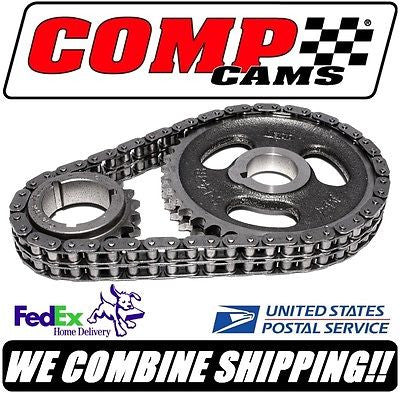 Comp Cams Hi-Tech 1968-80 Buick 350ci V8 Roller Race Timing Set #3128