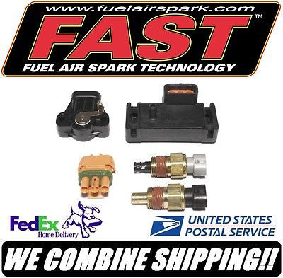FAST Carb to EFI Swap GM 2 Bar/29.0psi Sensor Kit MAP TPS ATS CTS #307054
