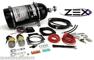 New ZEX GM LS1 LS2 LS6 LS3 LS7 Blackout 100-250HP Drive-By-Wire Nitrous Kit