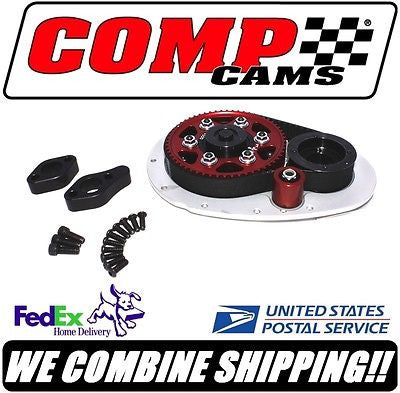 Comp Cams Chevy SBC Hi-Tech Race Belt Drive System with Idler & BBC Snout #6502