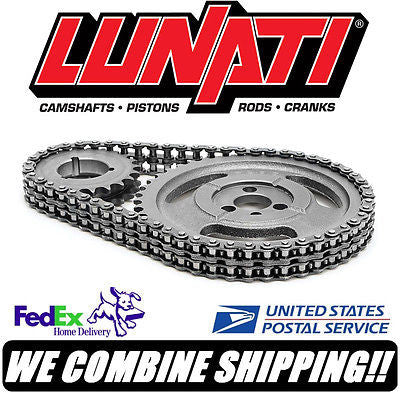 Lunati 255-302ci SBF & BOSS Ford Bracket Master Double Roller Timing Set 94220