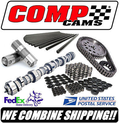 COMP Cams XFI XE-R GM LS LS1 LS2 LS6 Complete Roller Cam Kit 287/289, 605/609