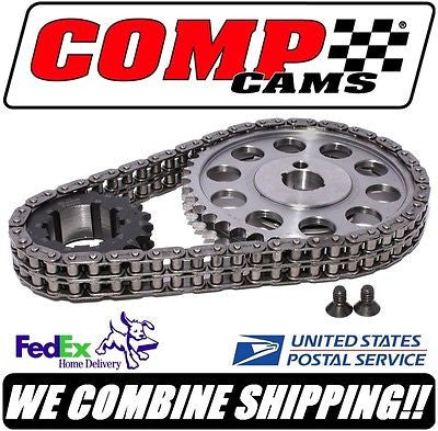 "Comp Cams 1965-88 SBF Ford .005"" 9-Keyway Adjustable Billet Timing Set #7138-5"