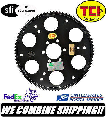 TCI Pontiac 326 389 421 455ci V8 166-Tooth Machined SFI Flexplate #399673