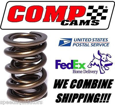 "1 COMP Cams .650 Lift LS1 LS2 LS6 1.300"" OD Dual Valve Spring #26921-1 - Speed Liquidators, Performance Aftermarket Automotive Parts, FAST Shipping Valves & Parts - COMP Cams, FAST, Lunati, Racequip, TCI, ZEX, Racing, Hot Rod, Nitrous, Camshaft COMP Cams - Speed Liquidators"