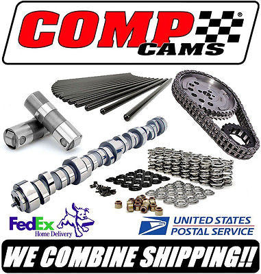 COMP Cams 215/223 GM LS LS1 LS2 LS6 LSR Cathedral Port Complete Roller Cam Kit
