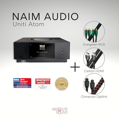 Naim Audio Uniti Atom All-in-One Player (Bundle)