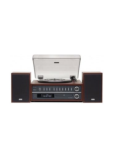 TEAC MC D800 Turntable / CD Player in Brown