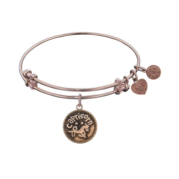 Zodiac 'Capricorn' Bangle