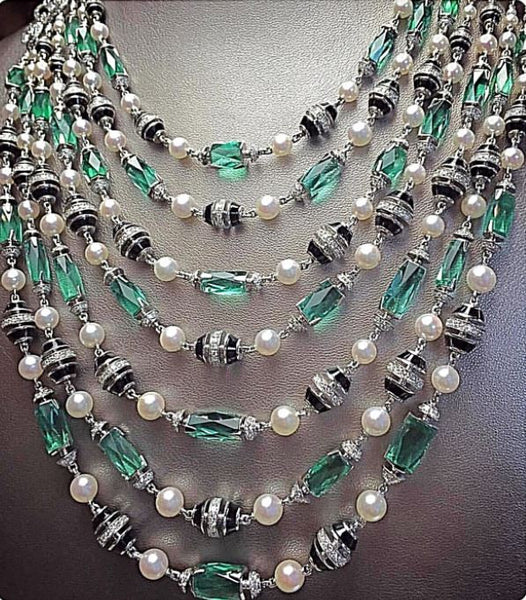 Necklace (Pearl & Stones)