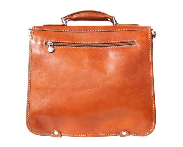 Italian Leather Briefcase (handmade)