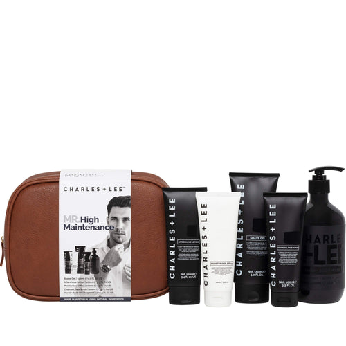 Charles + Lee Mr High Maintenance Gift Pack