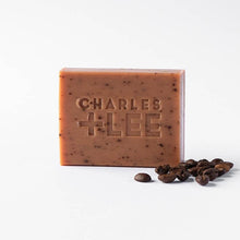 Load image into Gallery viewer, Charles + Lee Coffee Soap Duo 200g