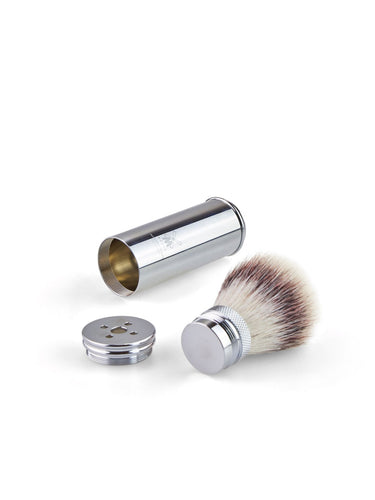 Muhle Travel M20 Silvertip Fibre® Shaving Brush – Metal