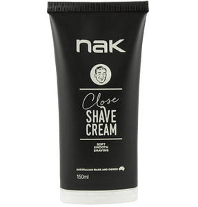 Nak Close Shave Cream 150ml