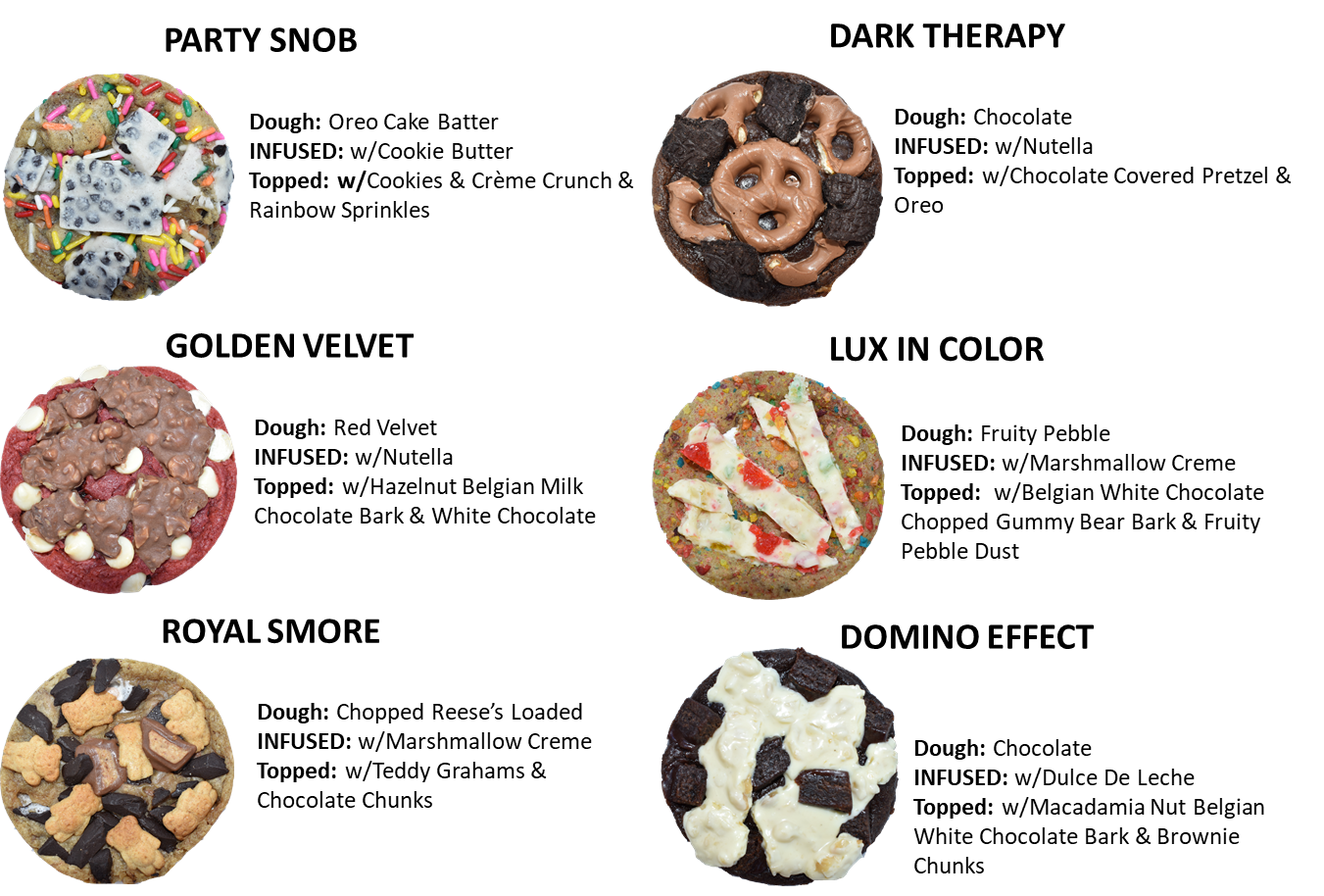 Cookie Flight Batch (Try them all!)