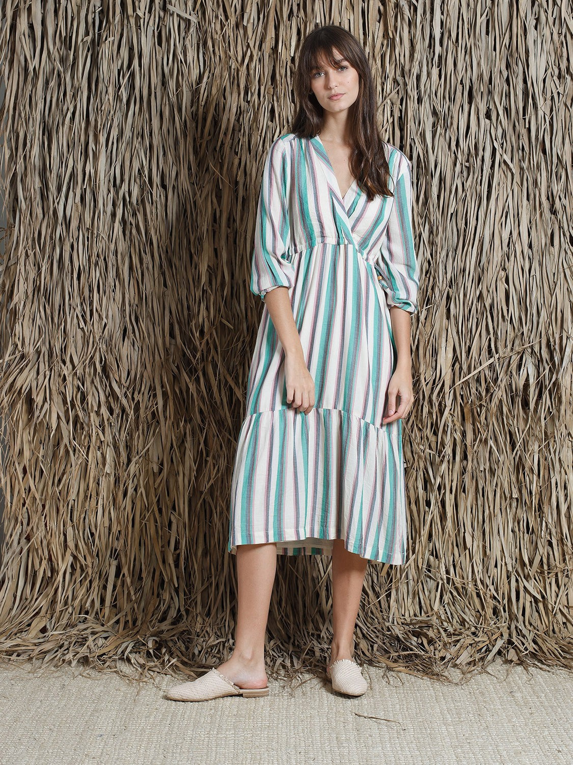 Vestido Stripe Dress