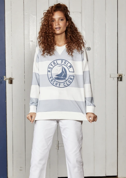 Yacht Club Crewneck Sweater