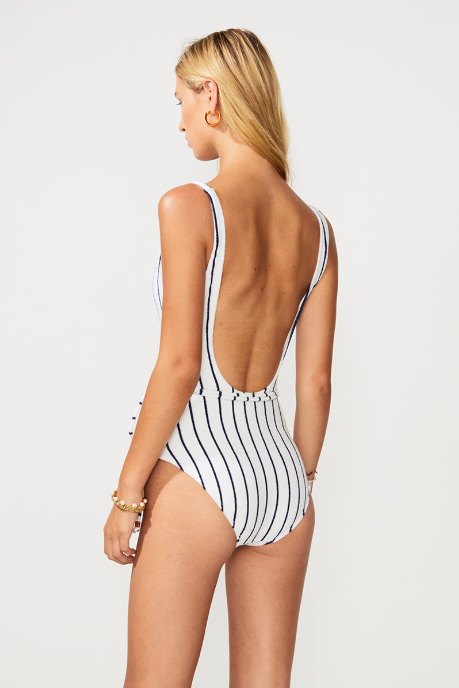 Straight 180 Belted One-Piece