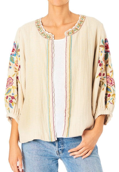 Carmel Multi Embroidered Jacket