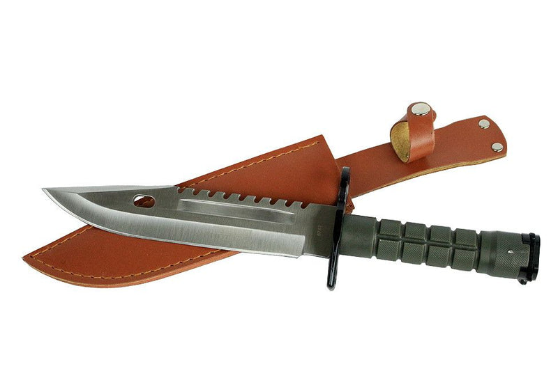 "12.75"" Defender Xtreme Stainless Steel M9 Bayonet Knife with Sheath - Sun-Blades"
