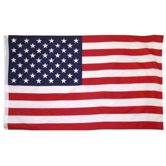 3X5 Ft Cotton USA Flag indoor Outdoor - Sun-Blades