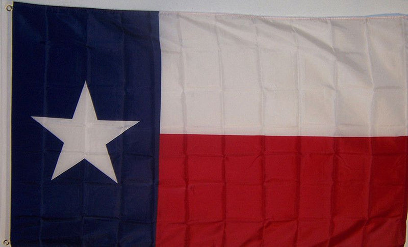 3x5 Super Polyester Texas Flag indoor Outdoor - Sun-Blades
